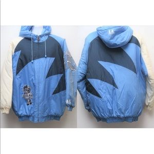 90s VTG Logo Athletic UNC TARHEELS Puffer Jacket